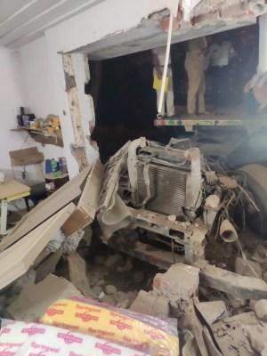 2 die as truck rams into factory in Delhi