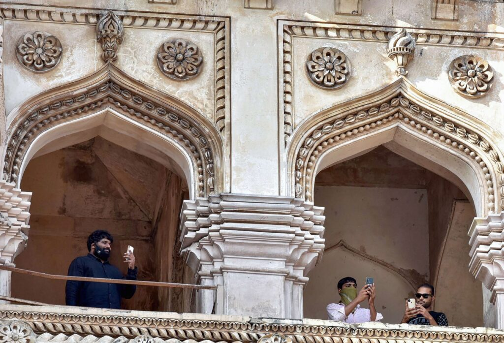 Charminar reopens in Hyderabad