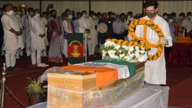 Photo of Photos: Final tribute to late Ram Vilas Paswan