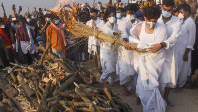 Photo of Photos: Funeral of Ram Vilas Paswan