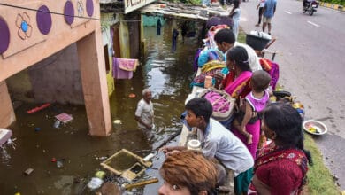 Photo of Rains: Over 2,100 families evacuated due to floods in Hyderabad