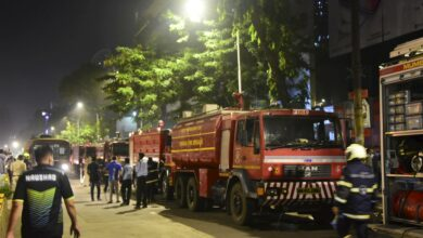 Photo of Fire at City Center Mall in Mumbai