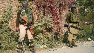 Photo of Two militants killed in an encounter at Mouchwa, Srinagar