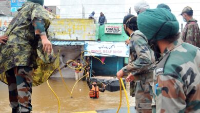 Photo of Indian Army joins NDRF to rescue people affected from rains