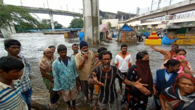 Photo of Hyderabad rains: Hundreds turn homeless and without food as Musi brims