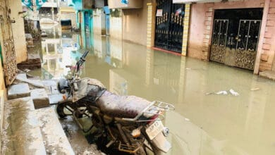 Photo of Flood: 1200 evacuated, 8 corpses traced from Al Jubail Colony