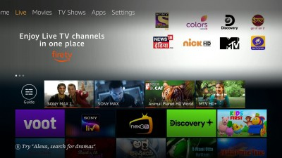 Amazon introduces 'Live TV' feature for Fire TV devices in India