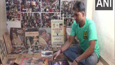 Photo of Bachchan's birthday: Fan showcases over 7,000 pictures, posters collected over 2 decades