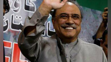 Photo of Former Pakistan president Asif Ali Zardari shifted to hospital