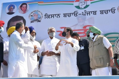 Assault on farmers will ruin nation: Rahul