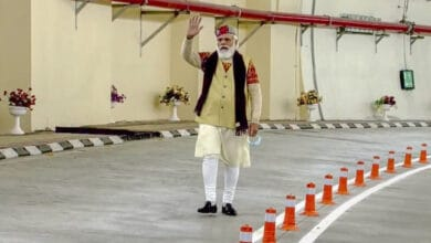 "Photo of PM Modi inaugurates world""s longest highway tunnel in Rohtang"