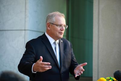 Aus PM welcomes Covid-19 curbs easing in Victoria