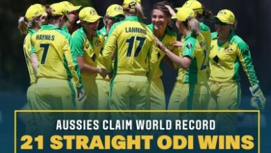 Photo of Australia women thrash White Ferns to secure record-equalling ODI win