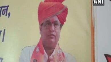 Photo of BJP leader Rajesh Jha shot dead in Patna