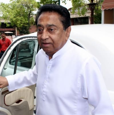 BJP luring Cong legislators with money power, alleges Kamal Nath