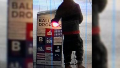 Photo of Ballot drop box with over 120 ballots set on fire; FBI to investigate