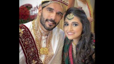Photo of Bepannah actor Taher Shabbir ties knot with Akshita – Pics inside