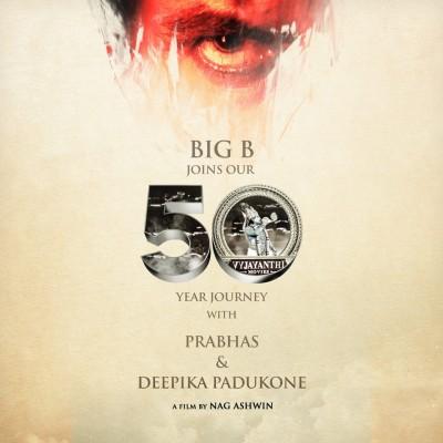 Big B, Prabhas, Deepika to share screen in multi-lingual mega project (Ld)