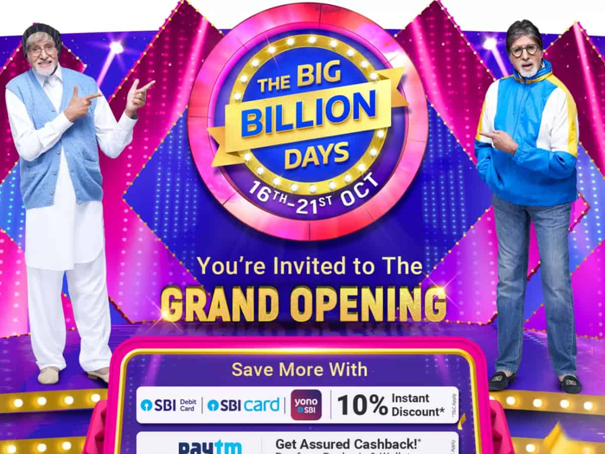Here's the list of deals offered by Flipkart in 'Big Billion Days'!
