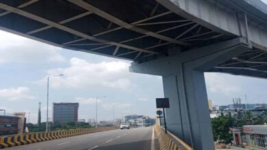 Photo of Metal bar of Biodiversity flyover falls, triggers panic