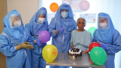 Photo of Hyderabad: 100-year-old COVID-19 patient recovers, hospital staff celebrates her birthday