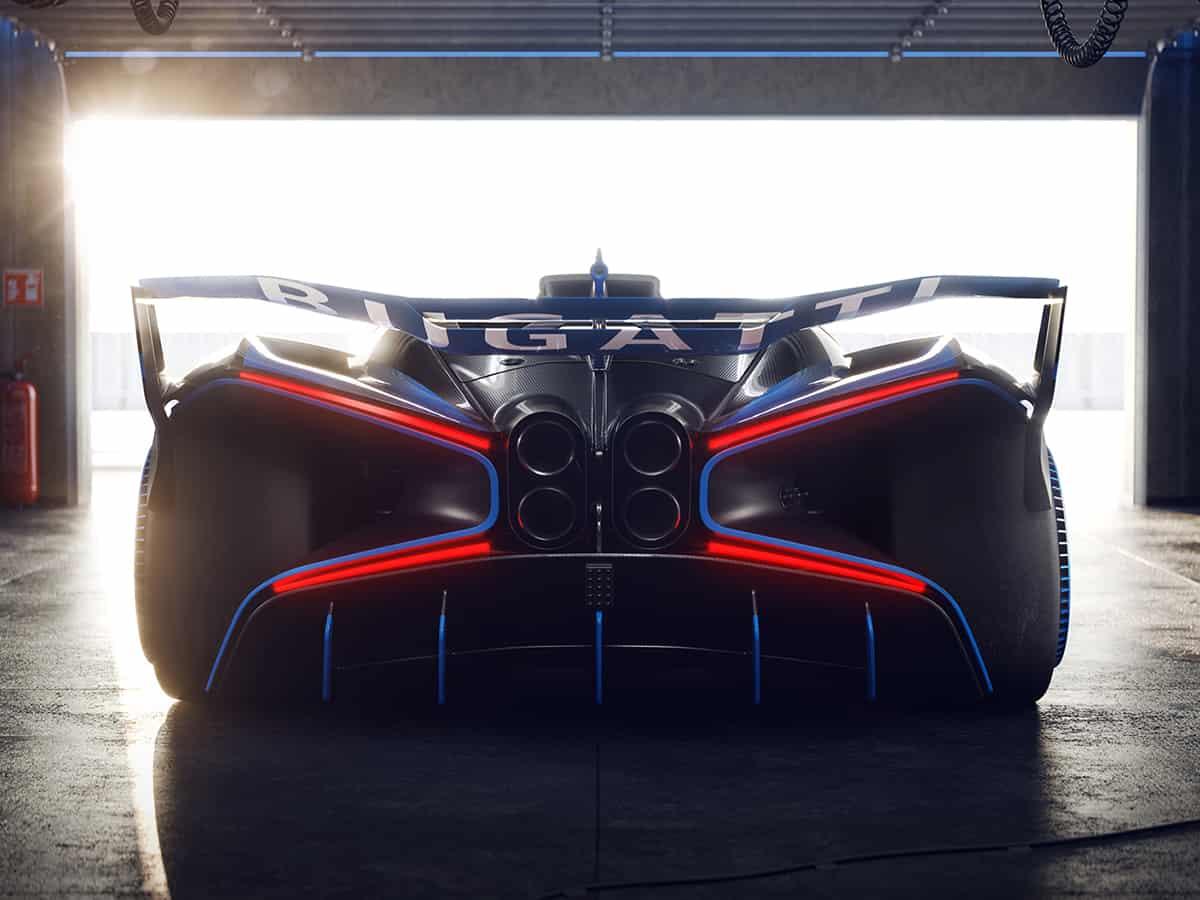 Bugatti Bolide What If