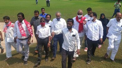 Photo of CPI leaders visit Naya Qila; demand golf course to shift out