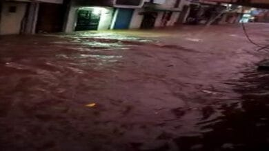 Photo of Heavy rains cause flooding in Hyderabad's Chandrayangutta