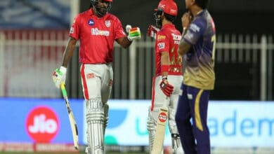 Photo of IPL 2020: Gayle, Mandeep guide KXIP to 8-wicket win over KKR