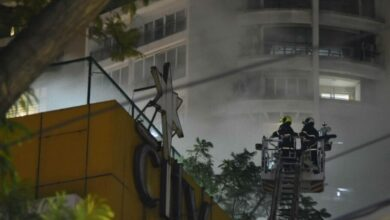 Photo of Watch: Major fire breaks out at City Center Mall in Mumbai