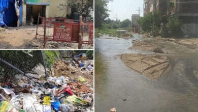 Photo of 'No road no vote' say vexed residents of Hafeezbaba Nagar