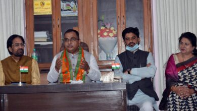 Photo of Jamal Siddiqui takes charge as BJP's National President Minority Morcha