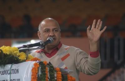 Delhi Deputy CM launches coffee table book on Gandhi