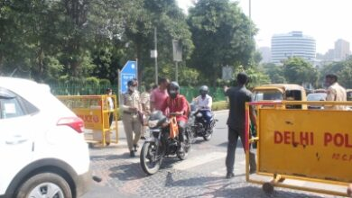 Photo of Delhi Police ups security, raises Covid awareness in festive season