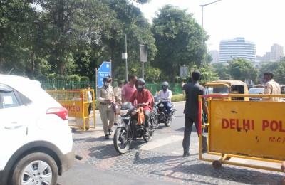 Delhi Police ups security, raises Covid awareness in festive season