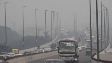 Photo of Delhi's air quality dips further