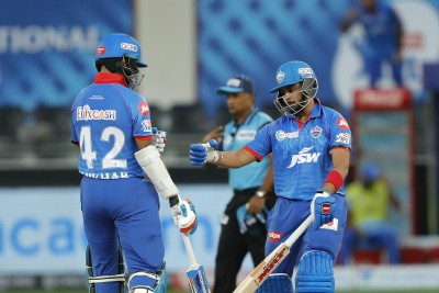 Dhawan's record ton in vain as KXIP beat DC, stay float (Ld)