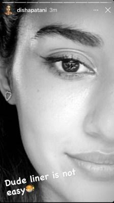 Disha Patani finds putting eyeline 'not easy'