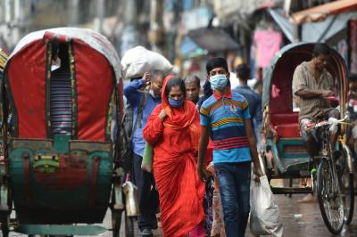 Don't go out without a mask, says B'desh govt