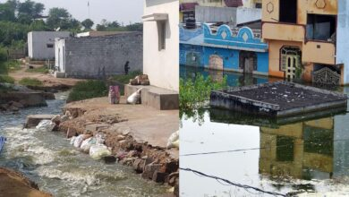 Photo of 50 days after floods water partially out of Osman Nagar