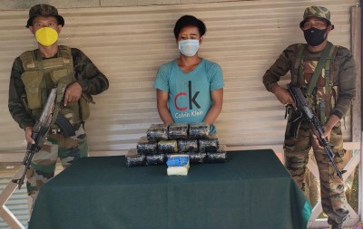 Drugs valued at Rs 6.5 cr seized in Manipur, one held
