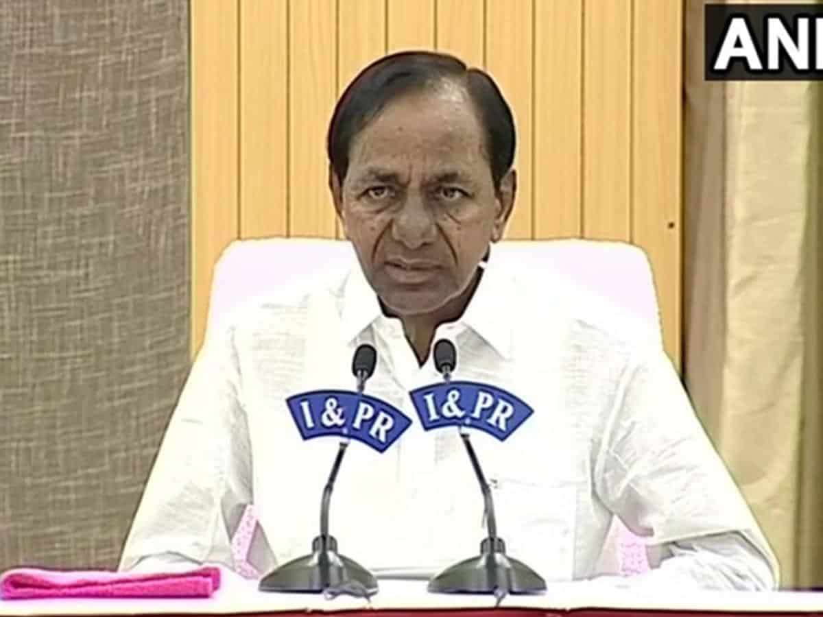 KCR to hold emergency meeting on rain relief measures today