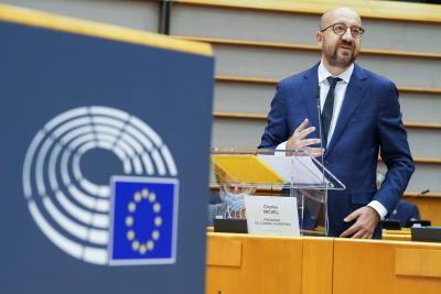 EU leaders urge UK to step up talks for future ties