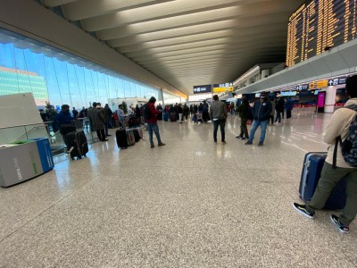 EU loses over 96% air travellers in Q2