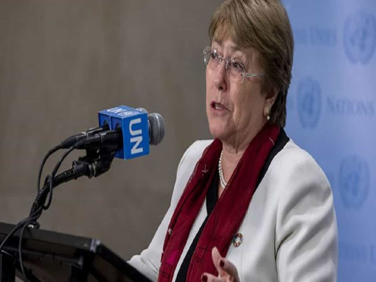 Michelle Bachelet - UN High Commissioner for Human Rights