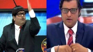 Photo of Arnab Goswami trolled at Kapil's show; Kiku reacts  unabashedly