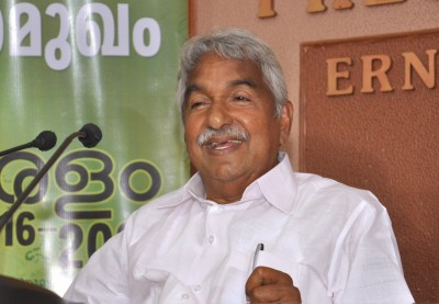 Ex-CM Chandy in isolation after driver tests positive