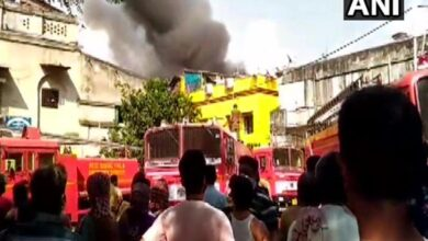 Photo of Fire breaks out at plastic factory in North Kolkata