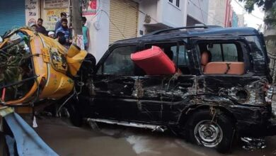 Photo of Hyderabad rains: Showers submerge localities, destroy homes, vehicles