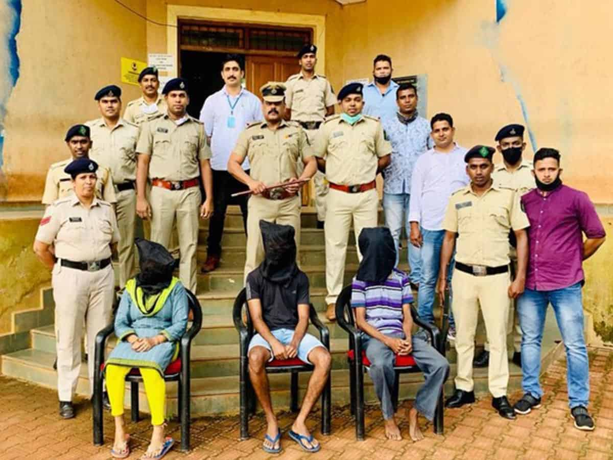 Goa: Police seizes drugs worth Rs 1 crore, 3 held